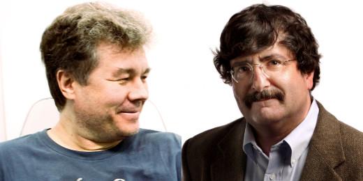 Виталий Серафимов и Джин Вайнгартен