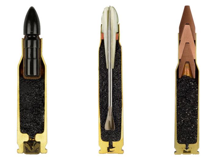 Пули в разрезе