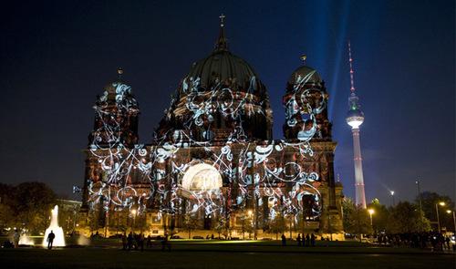 Берлин ночью