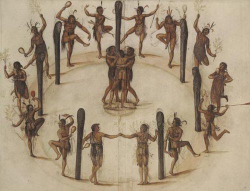 Рисунки 16 века