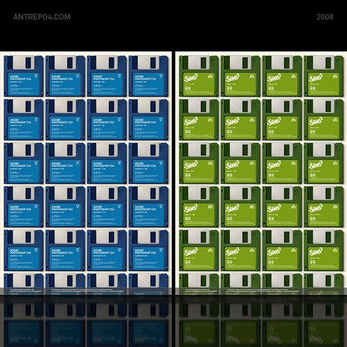 Фотошоп на дискетах