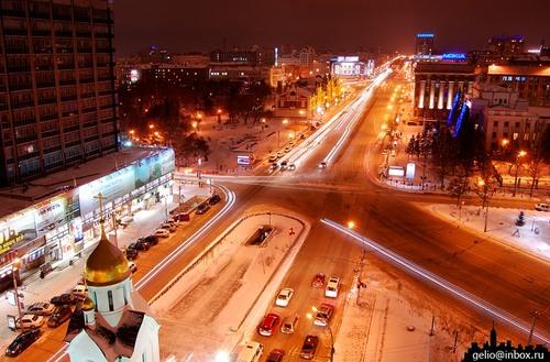 Новосибирск сверху