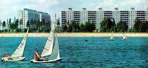 Обское море в 1976