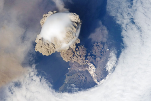 Извержение Сарычева