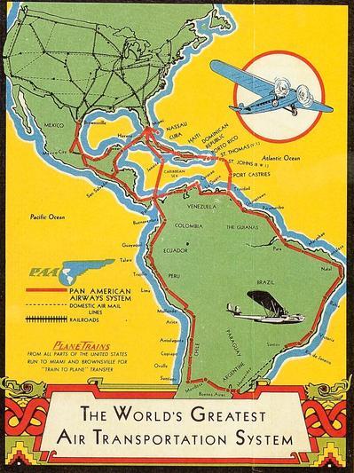 Авиакомпания Pan American