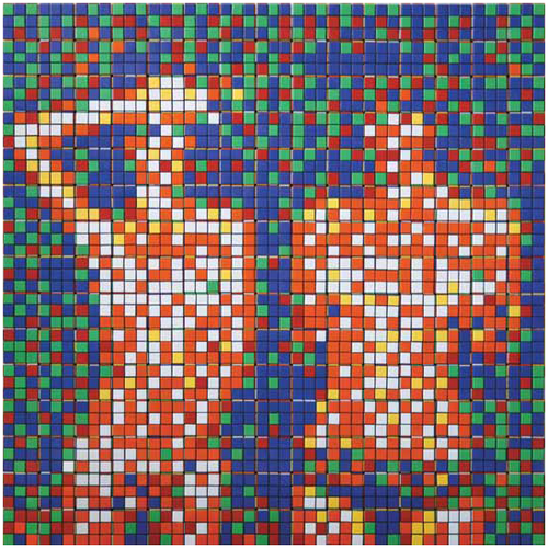 Картины из кубиков