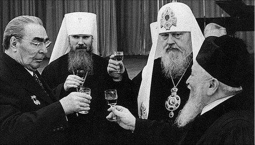 Брежнев и духовенство
