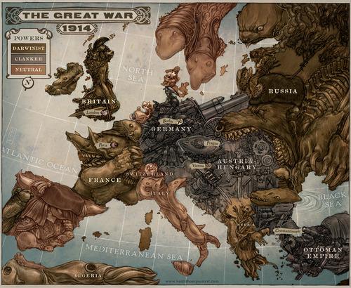 Европа в 1914 году
