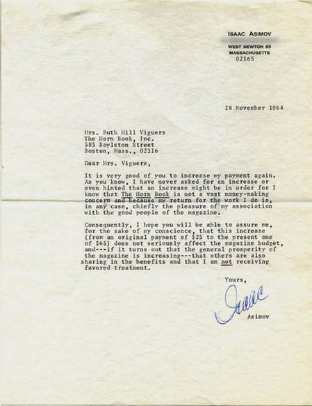 Письмо Азимова