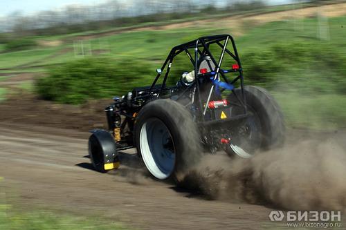 Самый быстрый трактор