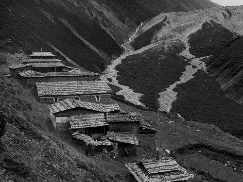 Старая тибетская фотография