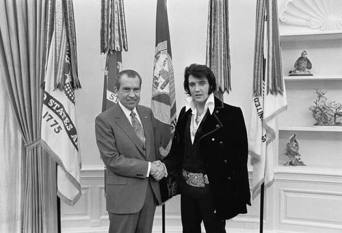 Никсон и Элвис