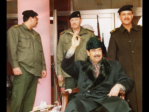 Домашний Саддам