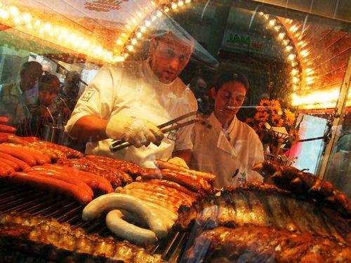 Уличная еда в разных странах