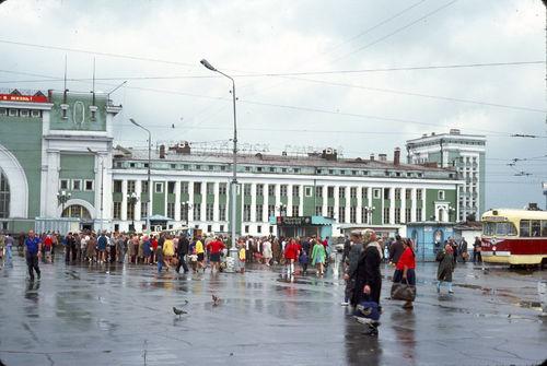 Новосибирск в 1975 году