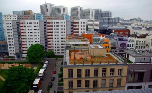 Берлинские крыши