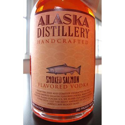 Водка со вкусом лосося