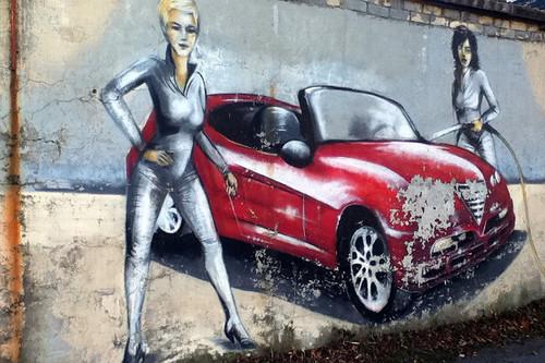 Кольские граффити