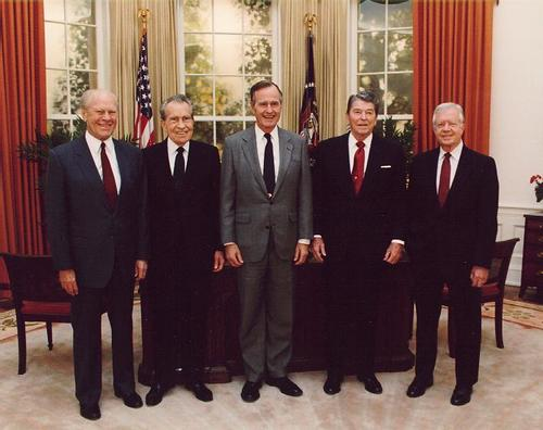 Ford Nixon Bush Reagan Carter