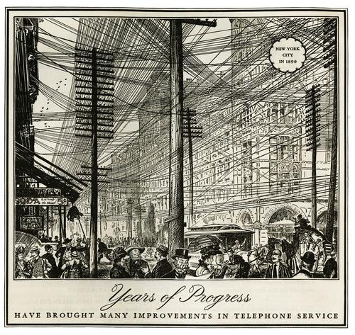 Нью-Йорк в 1890 году