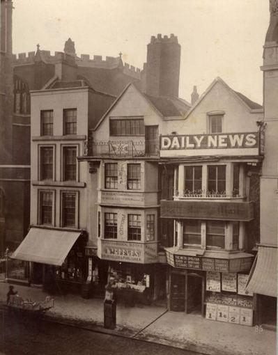 Лондон в 1883 году