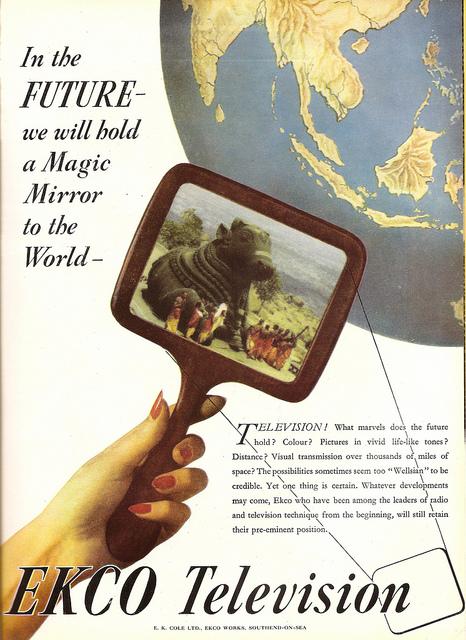 Телевидение будущего в 1946 году