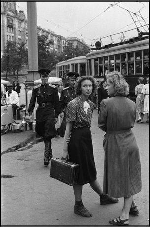 Москва в 1954