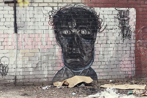 Граффити в Барнауле
