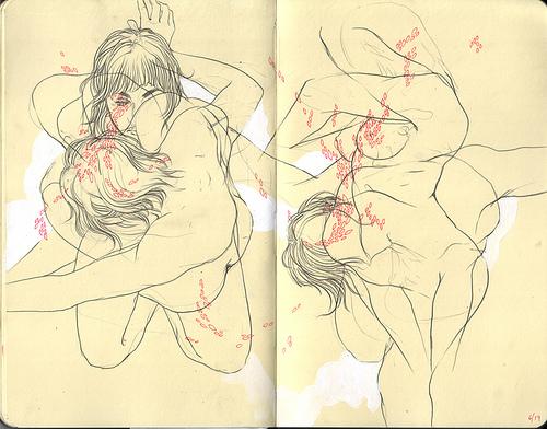 рисунки голых: