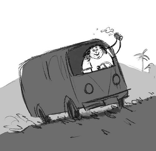 Карикатуры на Лост