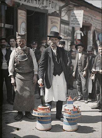 Старые цветные фотографии