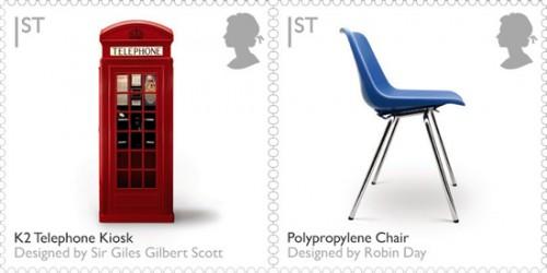 Телефонная будка и стул