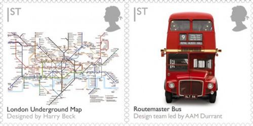 Карта метро и даблдеккер