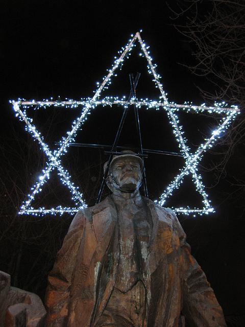 Ленин и звезда Давида