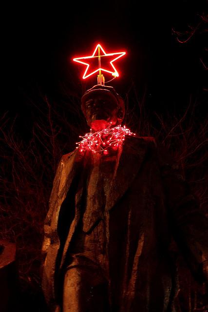 Ленин со звездой