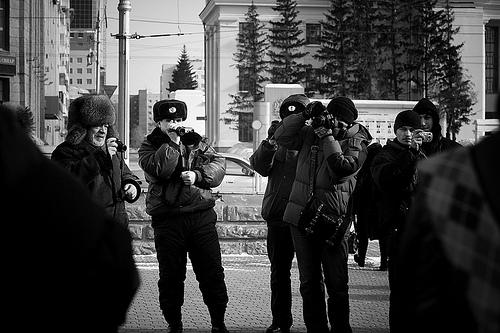 Пикет в защиту Лоскутова