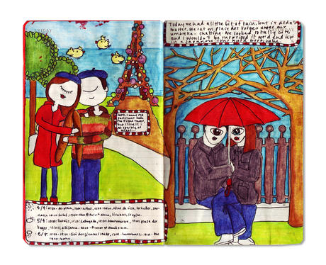 Рисунки Moleskine