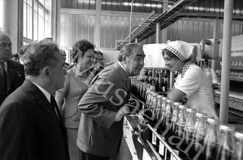 Брежнев и Пепси-Кола
