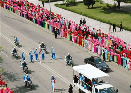 Олимпийский огонь в пхеньяне