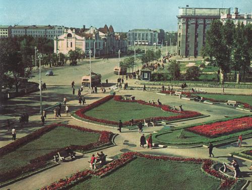 Новосибирск в 1965 году