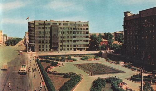 Как раньше выглядел Новосибирск