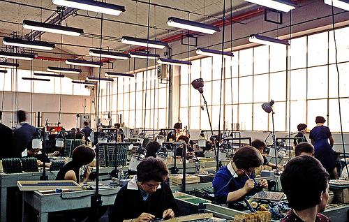 Фабрика Olivetti