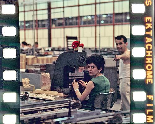 Фотографии фабрики Olivetti