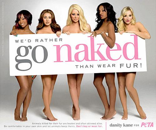 PETA Go Naked