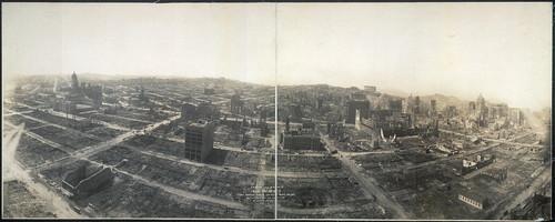 Сан-Франциско после землетрясения 1906 года