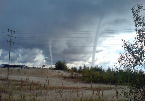 Сибирское торнадо