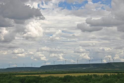 Ветряная ферма в Техасе