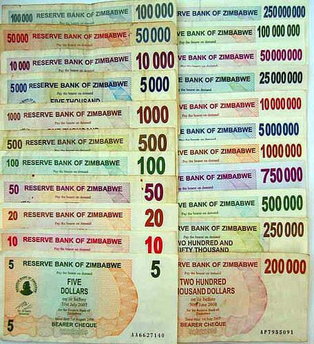 Деньги Зимбабве