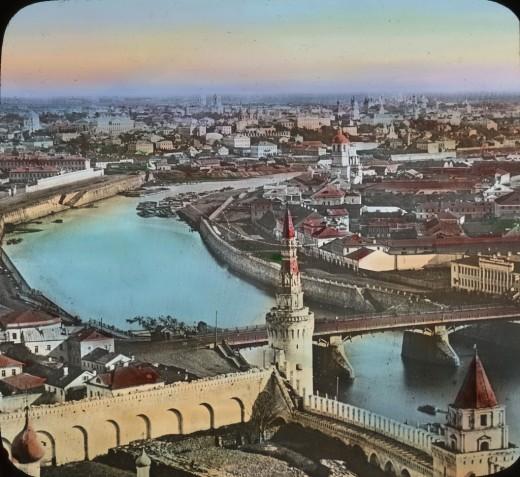 Москва в 1915 году