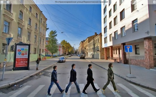 Abbey Road в Петербурге